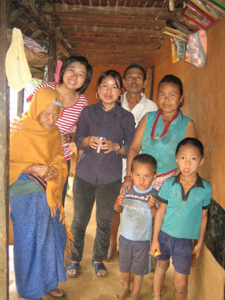 Tracy-and-Nepali-grandmother